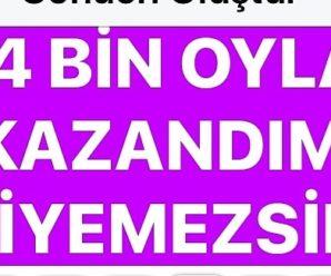 NİYETİ BELLİ OLDU!..