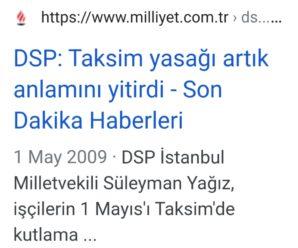 """2009'DA, """"TAKSİM YASAĞI ANLAMINI YİTİRDİ"""" DEMİŞTİM; HAKLI ÇIKMADIM! AMA.."""